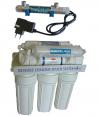 Purificator apa cu osmoza inversa in 6 trepte BlueClear RO80MUV  cu sterilizator UV